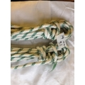 Reel End 13-19, Marlowbraid 14mm Green Fleck 9.1 Meters 2 identical available