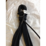 Reel End 13-28, 10mm Shock Cord, Black 10.6M