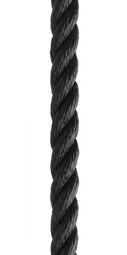 3 Strand Polyester - Navy / Black